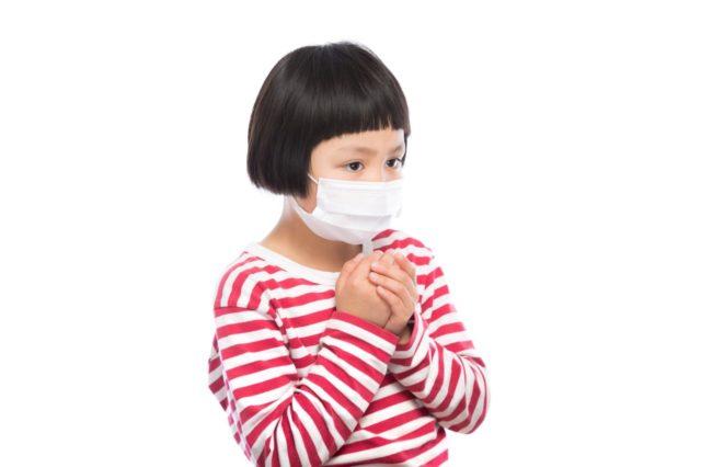 アレルギーの女の子