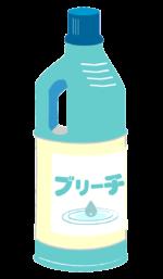 漂白剤・ブリーチイラスト